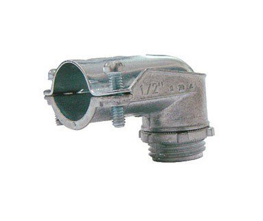 - Sigma Electric ProConnex 49804 AC/MC/Flex 90-Degree Squeeze Connector 1/2-Inch, 1-Pack