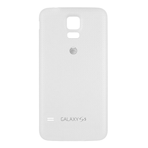 OEM Samsung Galaxy S5 SM-G900A AT&T Battery Door Back Cover Replacement - Shimmery ()