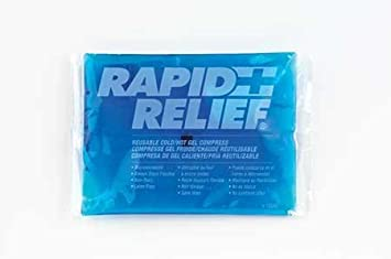 Hot/Cold Pack, White/Blue, 9In. x 11In. by RAPID AID: Amazon.es ...