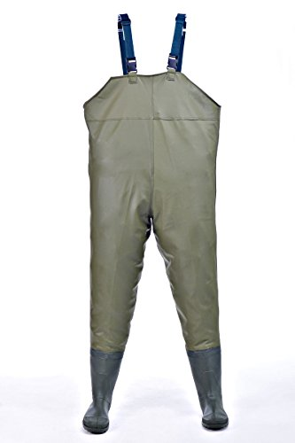 Hisea Insulated Boot-Foot Chest Waders Waterproof Fishing Hunting Boot Waders, Size 6-11.5