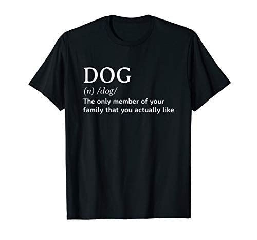 Funny Dog Quote Definition T Shirt Men Women Gift
