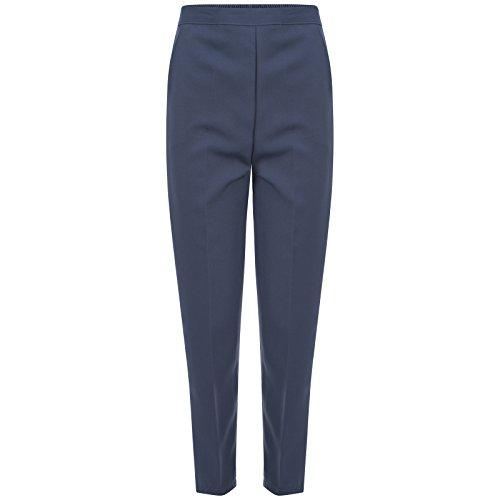 Pantalón Vaquero Azul Mujer INDX Straight Clothing para 5vwvqYZ8x