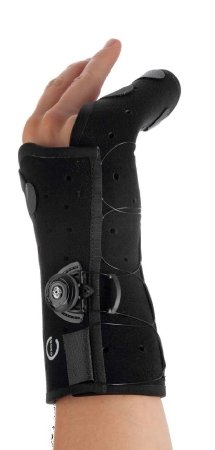 DJO Exos Boxer's Fracture Hand Brace Right Medium Black