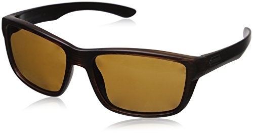 Suncloud Mayor Polarized Sunglasses, Burnished Brown Frame, Brown Polycarbonate ()