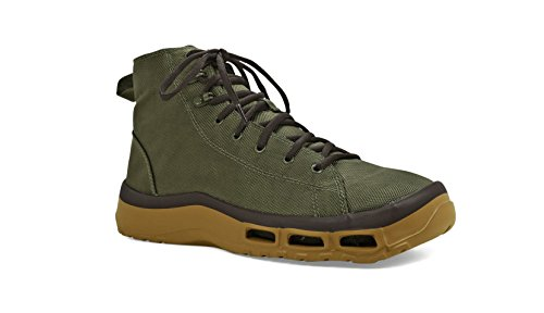 Fishing Boat Boot - SoftScience The Terrafin Men's Wading Boots - Sage, Size 12