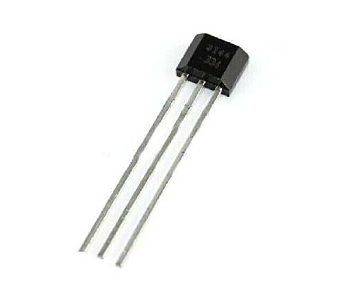 Exiron 50pcs A3144 3144E OH3144E Hall Effect Sensor SWITCHES TO-92UA 3pin SIP by Exiron