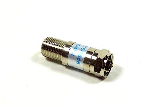 Phillmore 10 dB Coax Cable TV Signal Attenuator Pad; 42-110 (10db Attenuator)
