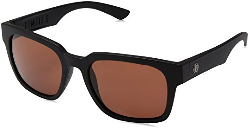 Electric Visual Zombie S Matte Black/OHM Rose Sunglasses by Electric