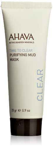 AHAVA Time to Clear Purifying Mud Mask, 25 grams