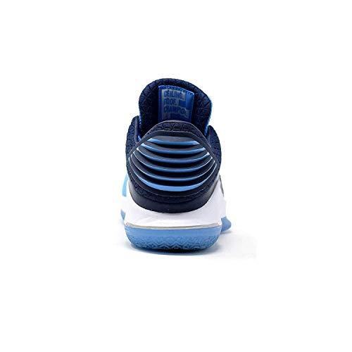 a6b1772ef3bd Jordan Men s Retro XXXII Low University Blue Black White Metallic ...