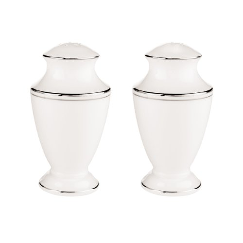 Lenox Federal Platinum Salt and Pepper Set, White