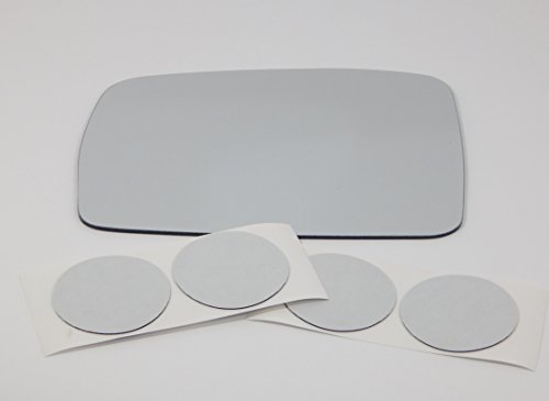 05-09 Land Rover LR3, Left Driver Flat Mirror Glass Lens with Adhesive, USA, Without Backing Plate (Land Rover Aftermarket)