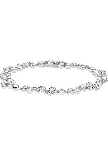 Christ Silver-Bracelet Femme Argent 92567cristal argent Taille unique