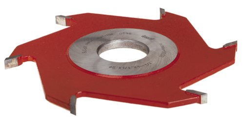 Freud UP176 1/4-Inch 8-Wing Groove Cutter For Shaper, 1-1/4 Bore