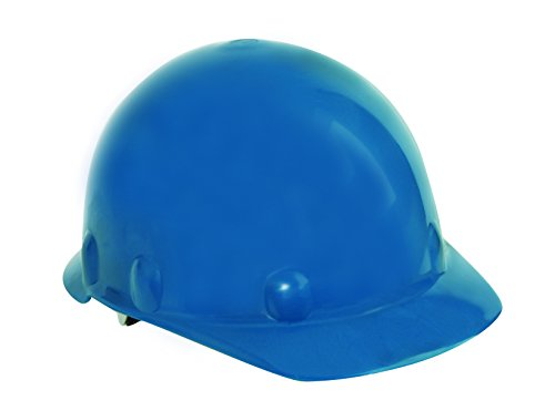 (Fibre-Metal by Honeywell SE271A000 Super Eight Type 2 Ratchet Cap Style Hard Hat, Blue)