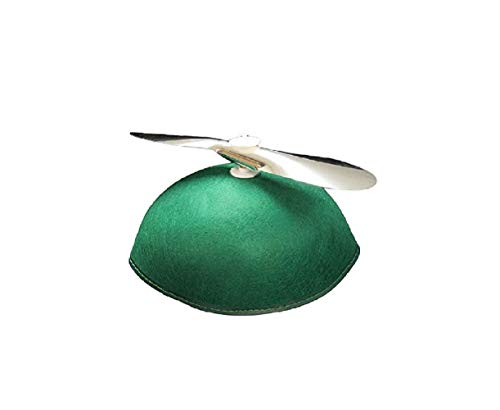 Jacobson Hat Company Youth Felt Propeller Beanie Cap (Green) ()