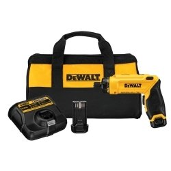 DEWALT Tools DWTDCF680N2 Screwdriver (8V MAX Gyroscopic, 2 Battery Kit) ()
