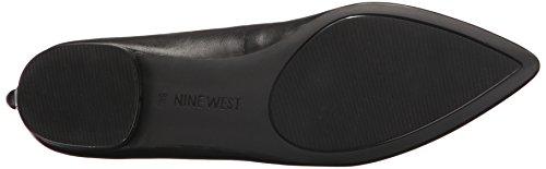 Nine West Owl Owl Leather Black Leather