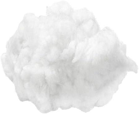 Relleno de algodón Blanco 1kg, Knorr Prandell, de Algodón Abrigos, Poliestireno, de Algodón Abrigo, Hobby Colores, Decoupage: Amazon.es: Hogar