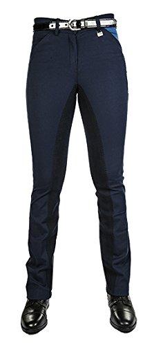 HKM Sports Equipment HKM PRO TEAM Jodhpur-Reithose pocket flap -Global Team-, dunkelblau/dunkelblau, 38