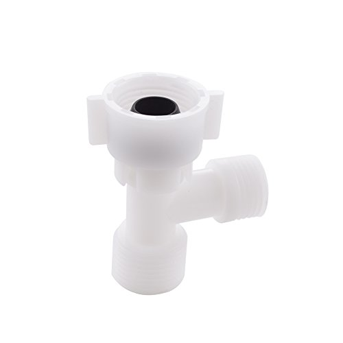 """KES Toilet Plastic 3-Way T-Adapter 15/16"""" UNS Female for sale  Delivered anywhere in USA"""