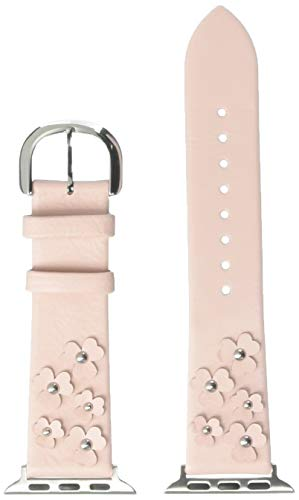 kate spade new york floral blush leather 38/40mm apple watch strap - KSS0025 Color: Pink