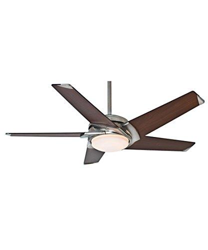 Casablanca 59090 Stealth 54-inch Brushed Nickel Ceiling Fan