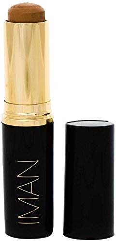IMAN Cosmetics Second to None Stick Foundation, Medium Skin, Clay 2 ()