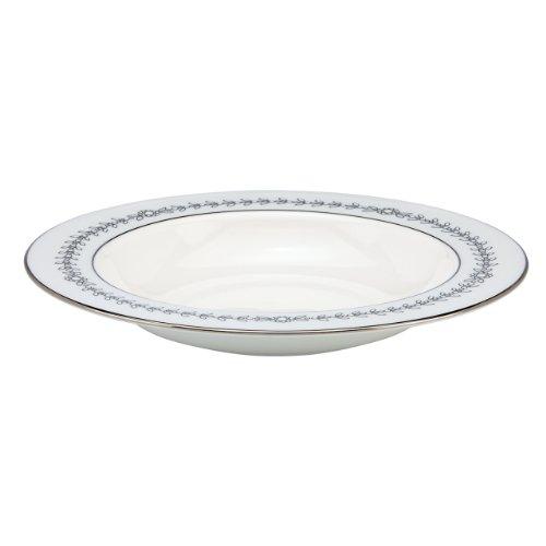 Lenox Marchesa Couture Pasta/Rim Soup Bowl, Empire Pearl