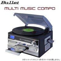 日用品 オーディオ 関連商品 マルチミュージックコンポ(MLC-100K) B07678B9G8