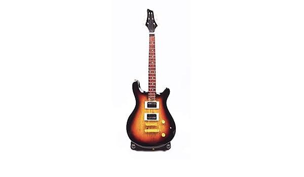 Guitarra en miniatura, guitarra decorativa, guitarra Fender Stratocaster 24 cm, naranja #194: Amazon.es: Instrumentos musicales