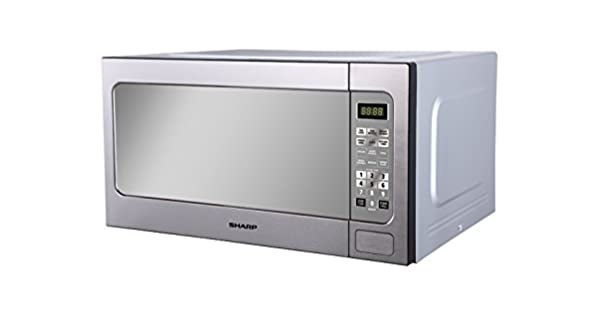 Amazon.com: Sharp r-562ct (St) 1200-watts 62-liter Acero ...