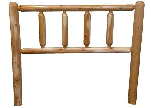 Rustic Cedar Log Head Board Headboard (Queen Lacqured) (Headboard Cedar)