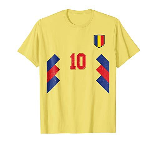 - Retro Romania Soccer Jersey 1994 Romanian Football T-Shirt