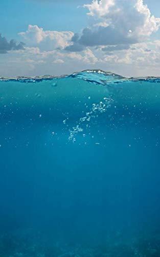 Notebook: Underwater Scuba Diving Diver Tank 5