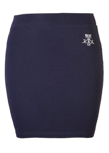 Co Brody Jupe Bleu Blanc amp; Uni Marine Femme Blanc Medium Large BT4CwFxAqT