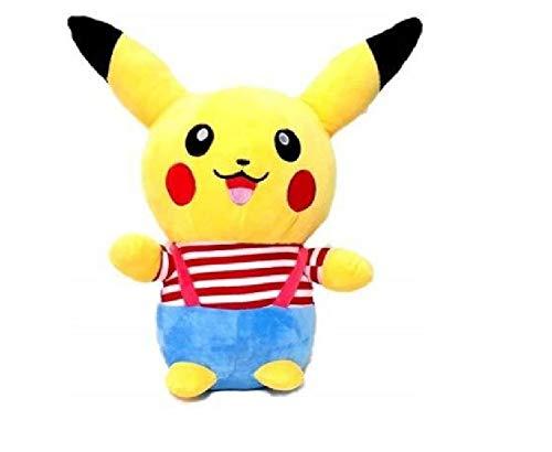 Beautiful Dress Pikachu Soft Toys for Girls Kids Teddy Bear Birthday Gift 35 cm