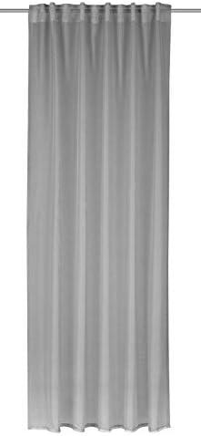 Albani Lara White – Sciarpa con Passanti nascosti, 245 x 135 cm, Grigio Acciaio, 245x135cm