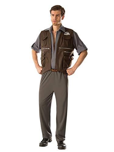 Rubie's Men's Jurassic World Deluxe Owen Costume, Multi, X-Large]()