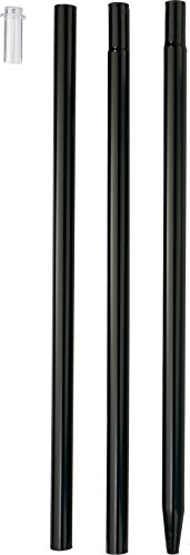 Droll Yankees Garden Pole - DROLL YANKEES INC Bird Feeder Garden Pole Black 68 INCH