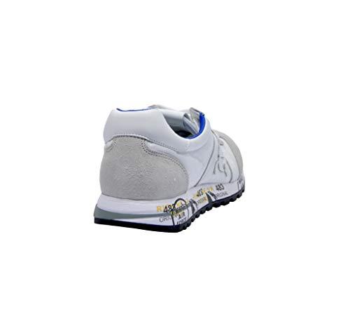 Lucy206206 Cuero Zapatillas Premiata Blanco Mujer HBzp8Sx
