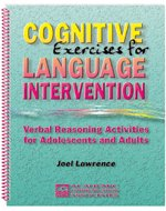 Cognitive exercises for language intervention: Verbal reasoning activities for adolescents and adults (Problem Solving Questions For Adults Speech Therapy)