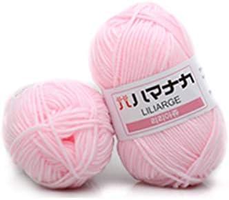 4 ovillos de hilo de algodón peinado para costura, para tejer a ...