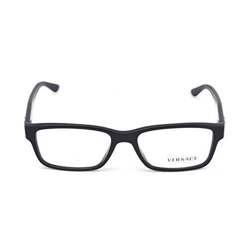 Versace Men's VE3198A Eyeglasses Black 55mm by Versace (Image #2)