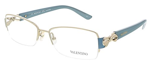 VALENTINO Eyeglasses V2106 718 Light Gold 53MM (Valentino Optical Frames)