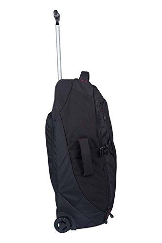 mountain warehouse voyager 50 l rucksack mit rollen schwarz bestseller shop f r kinderwagen. Black Bedroom Furniture Sets. Home Design Ideas