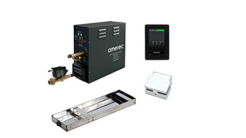 AX Series Steam Bath Generator with Olympic Package (11 KW Polished Nickel Finish)