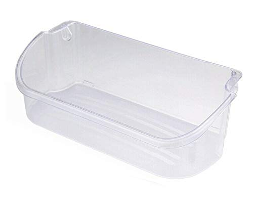 Ecumfy 240356402 Clear Refrigerator Door Bin Compatible with Electrolux and Frigidaire, Upper Slot Replacement Shelf, Replaces AP2549958 PS430122 (Refrigerator Side By Side Doors)