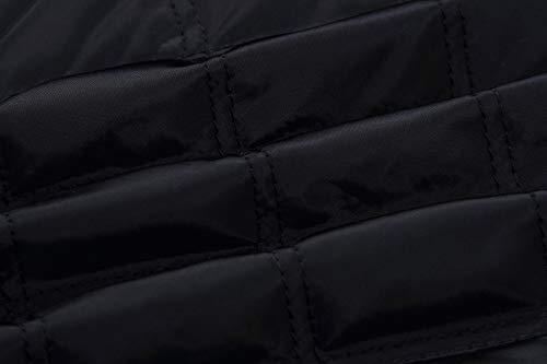 Nero Giacca Manica Primavera Fräulein Fox Coat Tops Di Lunga Outerwear Casual Cappotto Cotone E Autunno Donna Jacket Moda 4pwwxq