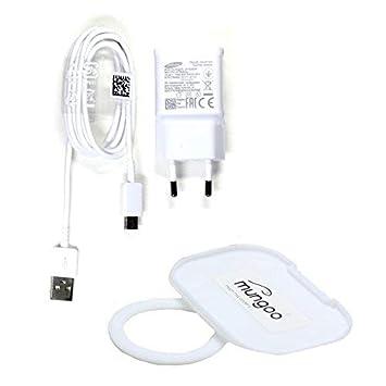 Cargador para Original Flash rápido Samsung 2A + USB Tipo C Cable de carga de datos Samsung Galaxy A3 2017 (A320F), Galaxy A5 2017 (A520F), Galaxy A7 ...